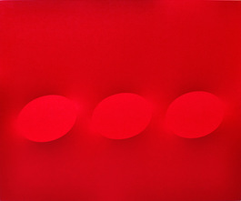 3 ovali rossi