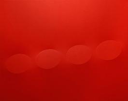 4 ovali rossi