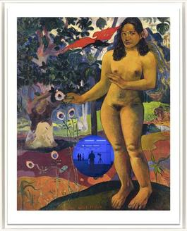 Gazing Ball (Gauguin Delightful Land)
