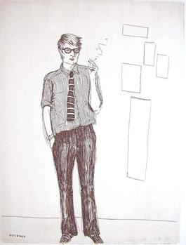 David Hockney (from the cover of That
