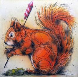 Squirrel Fireworks