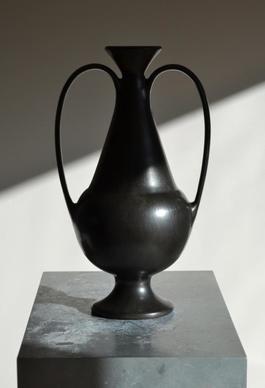1940s Bucchero Vase by Gio Ponti