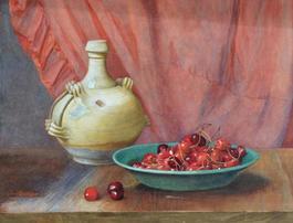 Cherries Still Life