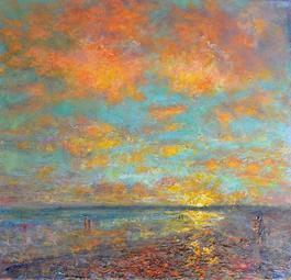 Long Rock Beach Sunset