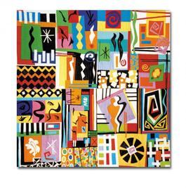 Big Top. Contemporary Quilt