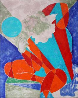 Reflection in Sun Ray Motley