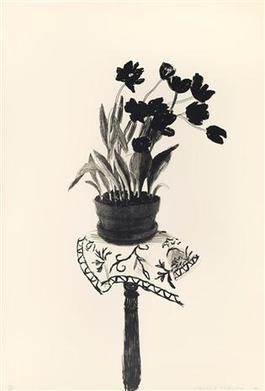 Black tulips