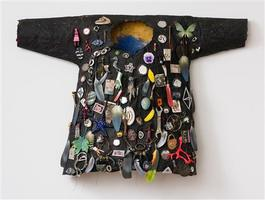 Black Shirt with Starfish Lucille Ball and Padlock