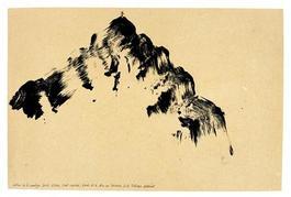 Autour de la montagne Sainte-Victoire Mont Venturi étude n°07