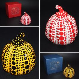 Set of 2 pumpkins (Yellow and Red)