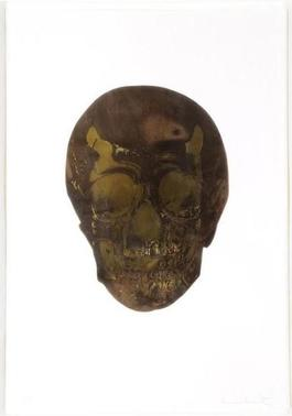 The Dead (Chocolate Oriental Gold Skull)