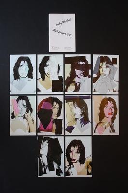 Mick Jagger Postcards (Set of 10)