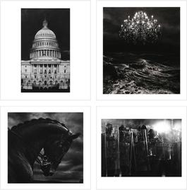 1. Untitled (Capitol Detail) 2. Untitled (Throne Room) 3. Untitled (Bucephalus) 4. Untitled (Riot Cops)