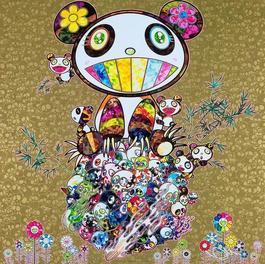 Panda Family (Gold)