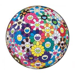 Flower Ball: Multicolour (Thoughts on Matisse)