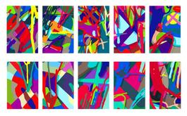 Tension (Portfolio of Ten Prints)