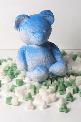 Cracked Bear (Blue)