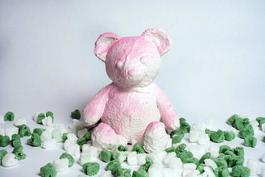 Cracked Bear (Pink)