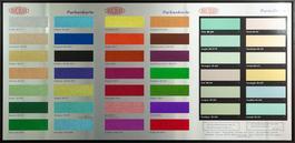 Colour Chart - Glitter
