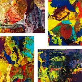 P8, P9 P10, P11 (Flow) - Set of 4 prints