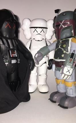 Star Wars Companions (set of three)