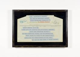 The Vertov Telegram of 1944