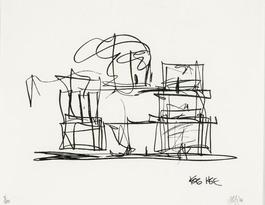 Study for New Gehry House