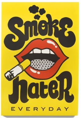 SMOKE HATER EVERYDAY
