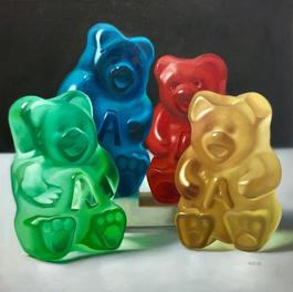 Family of Four Gummy Bears