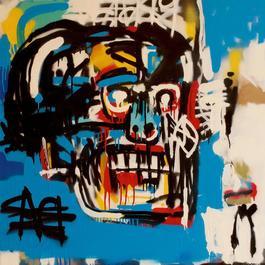 Bill (After Jean Michel Basquiat)