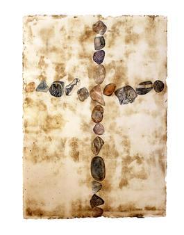 Untitled (Stone Cross)