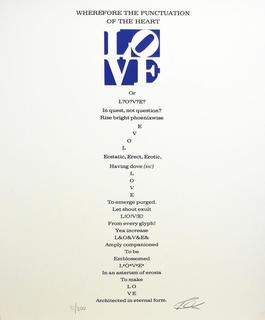 Wherefore the Punctuation of the Heart Poem, Book of Love