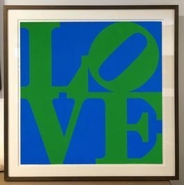 LOVE (Blue/Green)