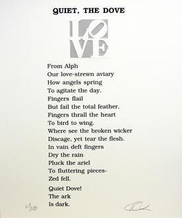 Quiet, The Dove Poem, Book of Love