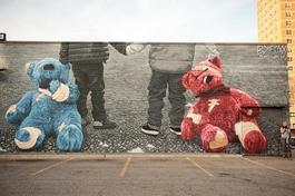 Teddy Bears mural