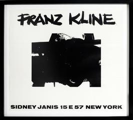 Sidney Janis Invitation Announcement