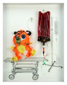 Intensive Care Bear (or tiger?)