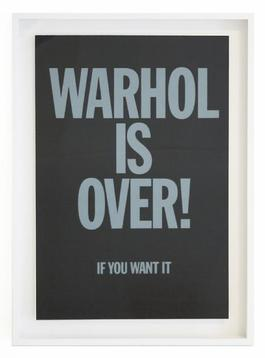 Warhol is over (Black)