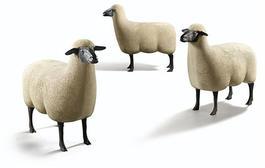 """Mouton de Pierre"" A Group of three"
