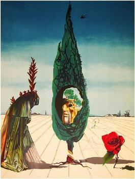 Enigma of the Rose (Death) from Visions Surrealiste