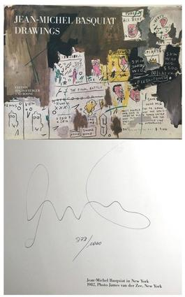 Jean-Michel Basquiat Drawings (Limited Edition, Hand Signed & Numbered)