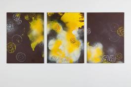 Chocolate I, II, III Triptych