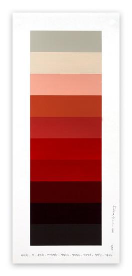 Emotional color chart 094