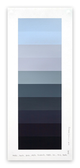 Emotional color chart 092