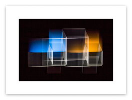 Two bridged squares 1