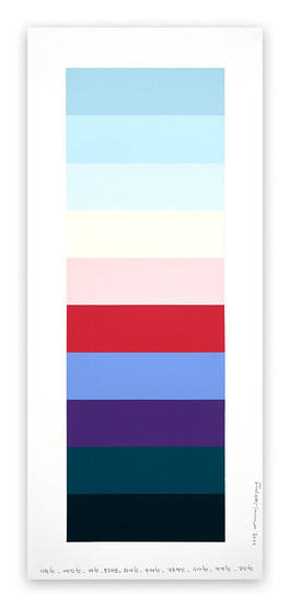 Emotional Color Chart 105