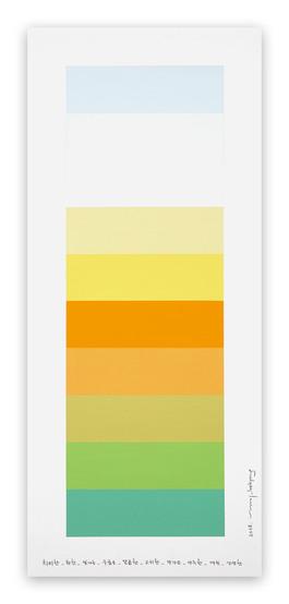 Emotional Color Chart 100
