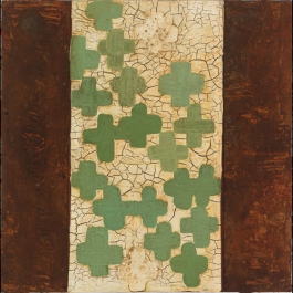 LOOSELY PATTERNED AFTER: GREEN CROSSES