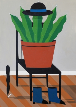 Seated Plant 2