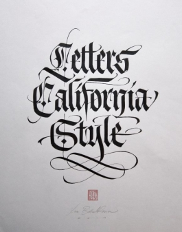 Letters California Style